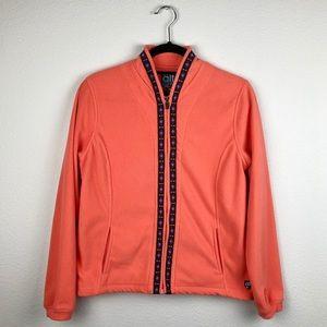 KUHL Neon Hiking Fleece Zip Up Jacket Women Small